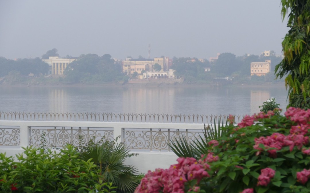 The Ashram at the water's edge